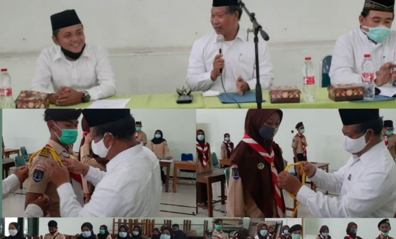 Photo of Dilantik Ambalan Sunan Kalijaga – Nyi Ageng Serang Pangkalan MAN 4 Sleman