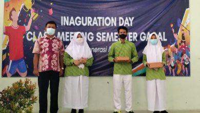Photo of Puncak Class Meeting Virtual OSIS MAN 4 Sleman Gelar Inauguration Day