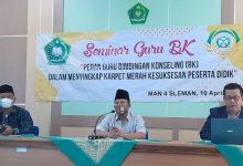 Photo of MAN 4 Sleman Gelar Seminar Guru BK se-Sleman