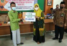 Photo of Raih Juara 3 Islamic Animated Short Movie Competition Siswa MAN 4 Sleman Terima Tropi dan Uang Pembinaan