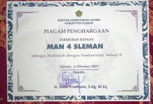 Photo of MAN 4 Sleman Raih Penghargaan Terbaik Ketiga Pemberitaan